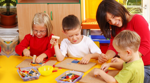 Six Benefits of Preschool for Young Children